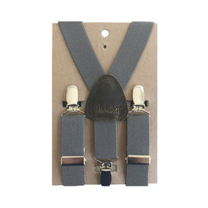 Suspenders - Charcoal -MED