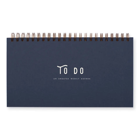To-Do Simple Weekly Planner Notebook