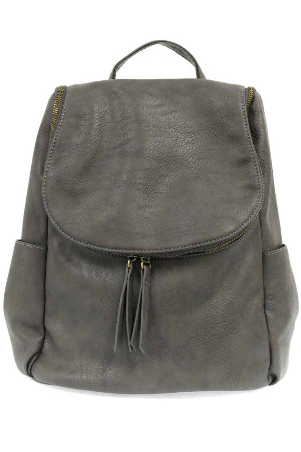 Side Pocket Backpack (Charcoal)