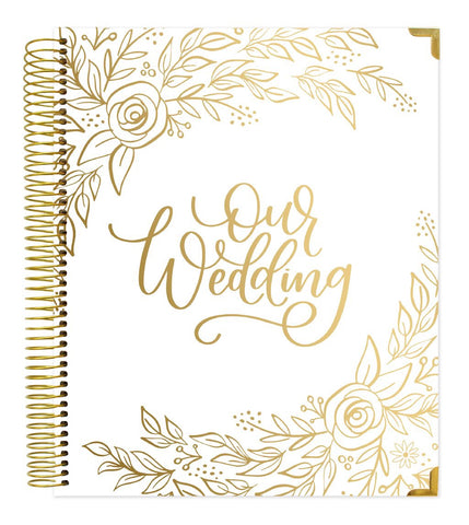Wedding Planner - Gold Floral