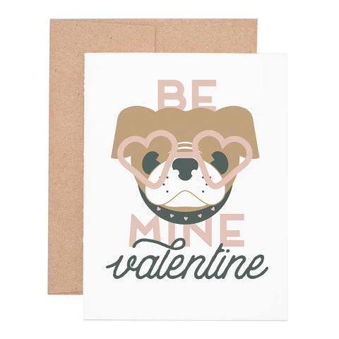 Be My Valentine Notecard