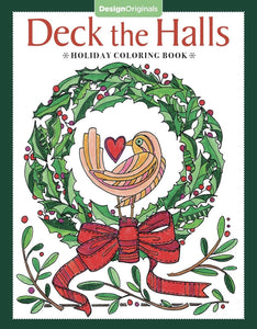 Deck the Halls Coloring Book