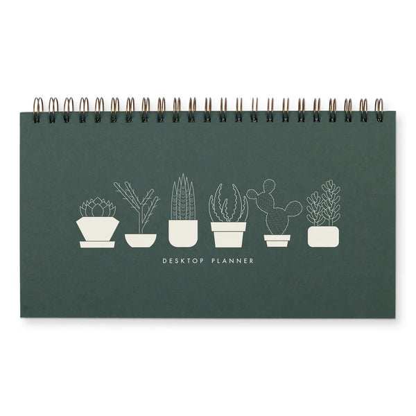 Succulent Weekly Planner Notebook