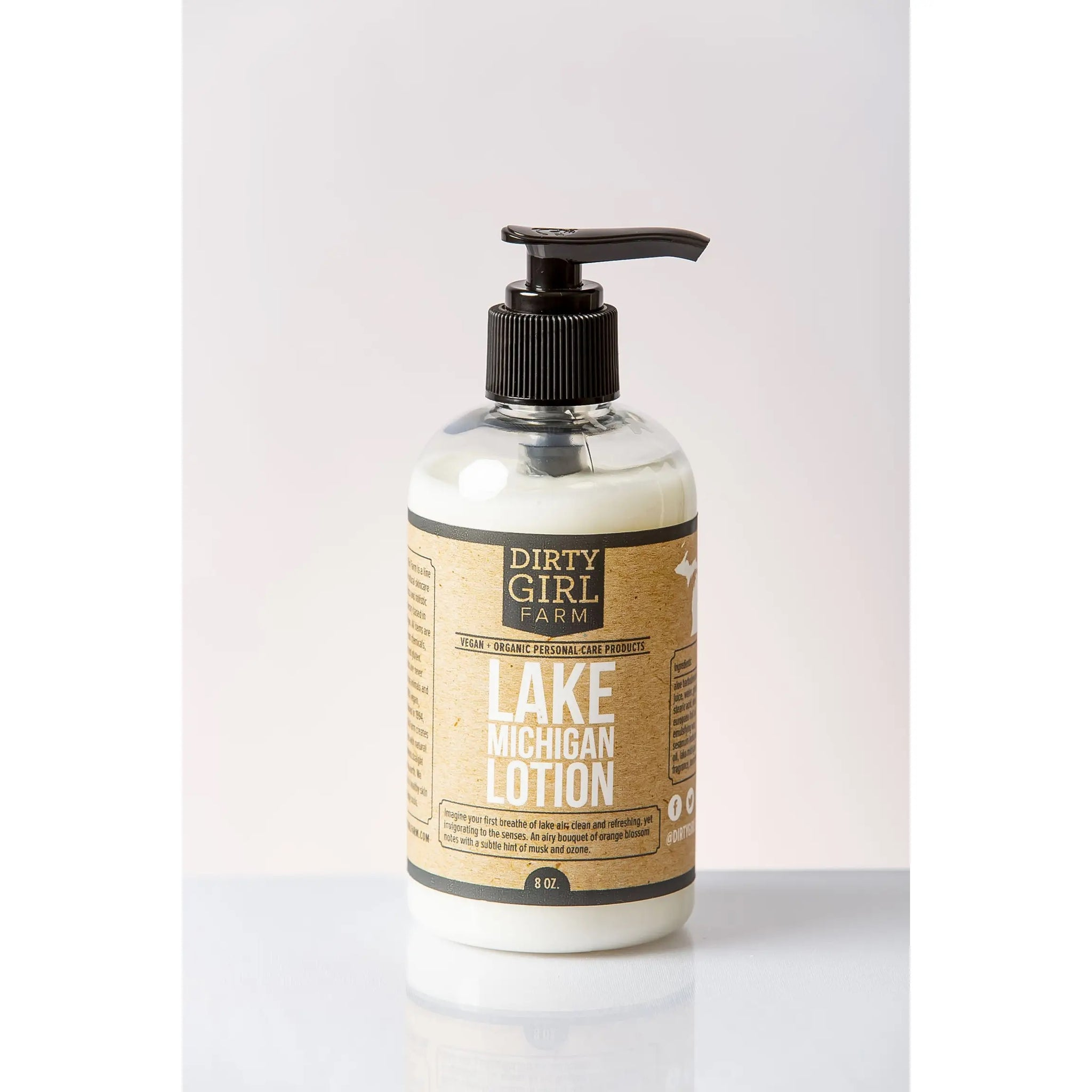 Dirty Girl Farm Lotion- Lake Michigan