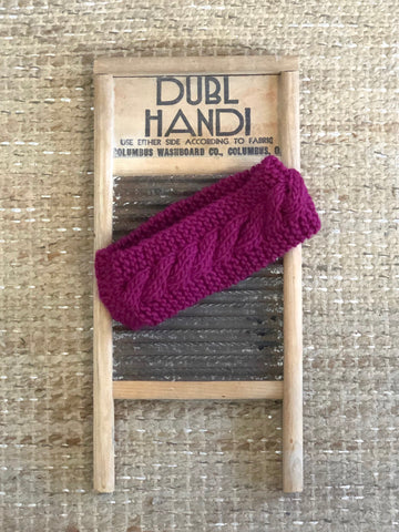 Knitted Headband Wraps