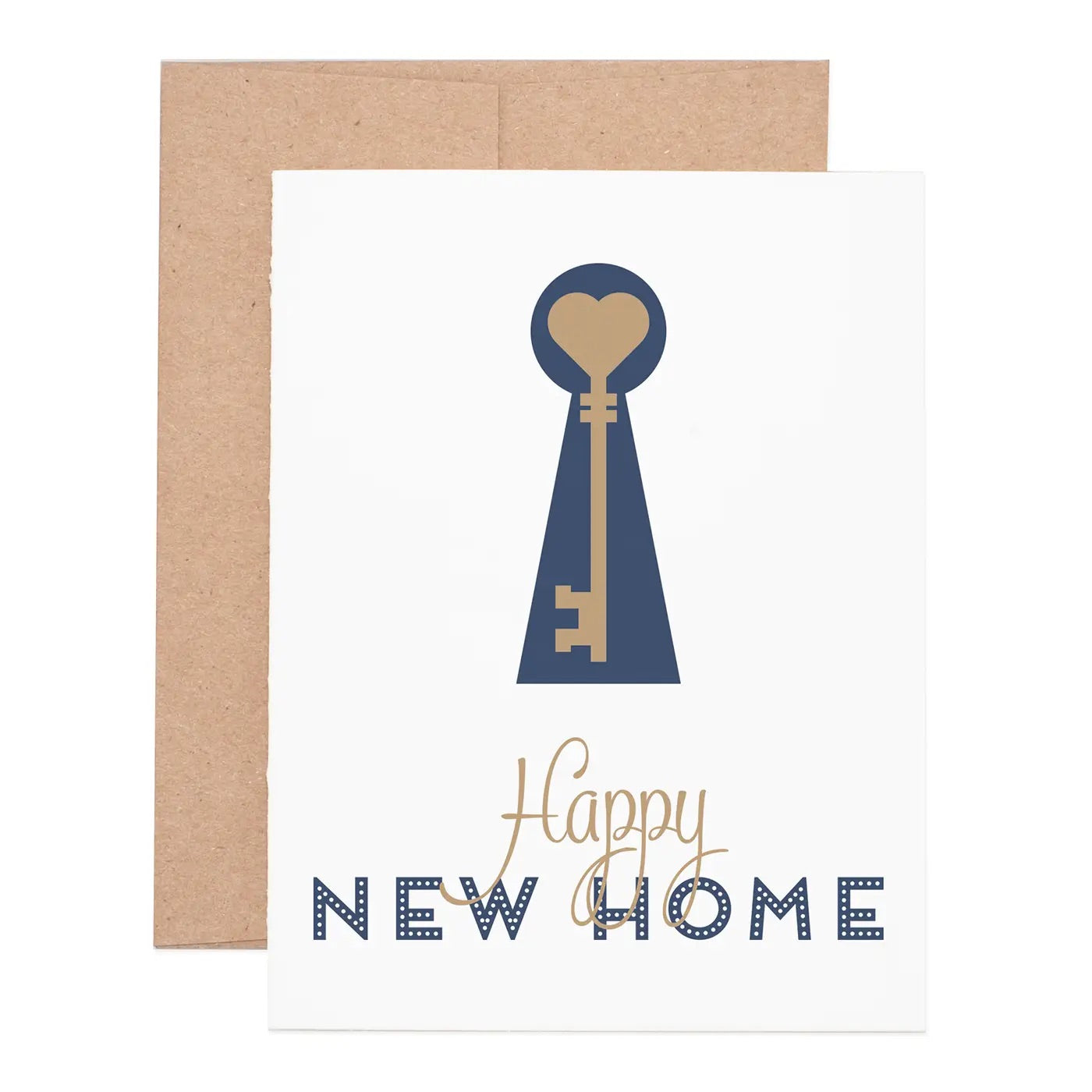 Happy New Home Notecard