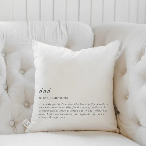 Dad Father - Square Pillow