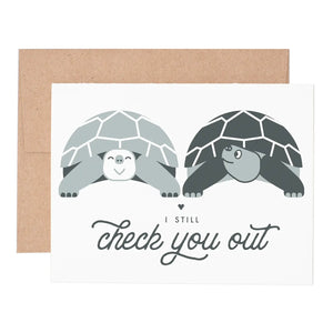 Check You Out Love Notecard