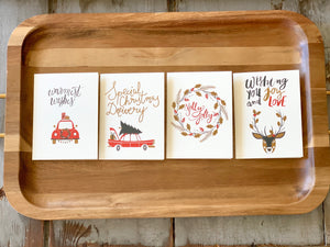 Christmas Notecards - 2 Pack