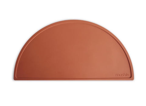 Mushie Silicone Place Mat - Clay