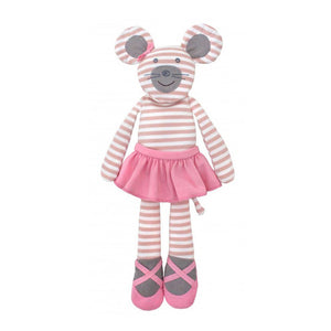 "Farm Apple Park 18"" Plush - Bellerina Mouse"
