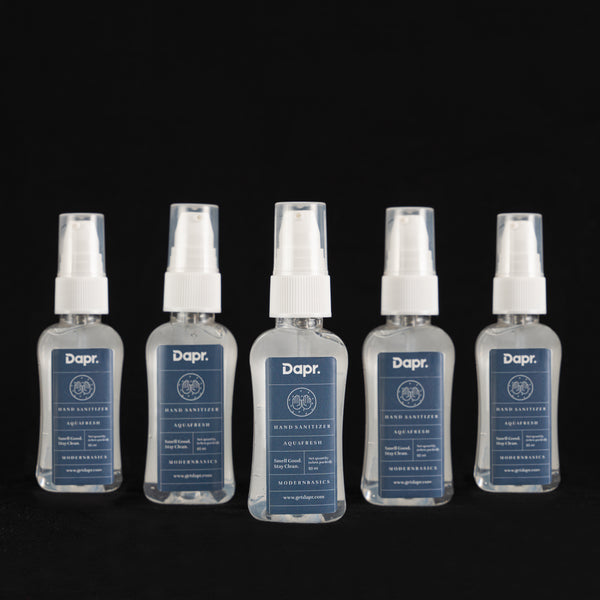 Dapr. Hand Sanitizer - Aqua Fresh |Made in India| 60 ml