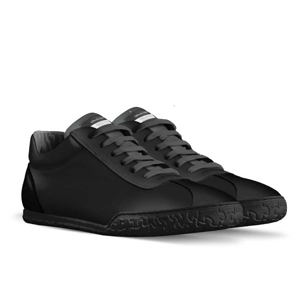 Sfidare83 Black Sporty Low Top