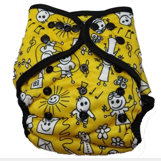Cloth Diapering in Summers