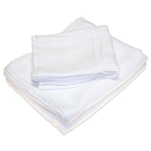 Organic Cotton Muslin Flat (Pack of 1)