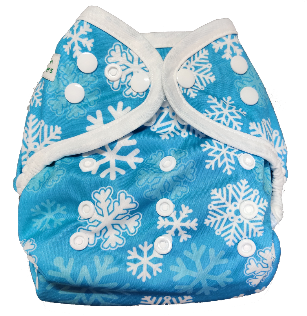 SimpL Diaper Cover - Let It Snow