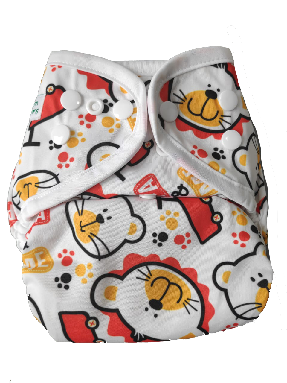 Newborn SimpL Diaper Cover - Paw Paw Bear