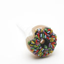 Empire Glass Sprinkle Donut Nectar Straw