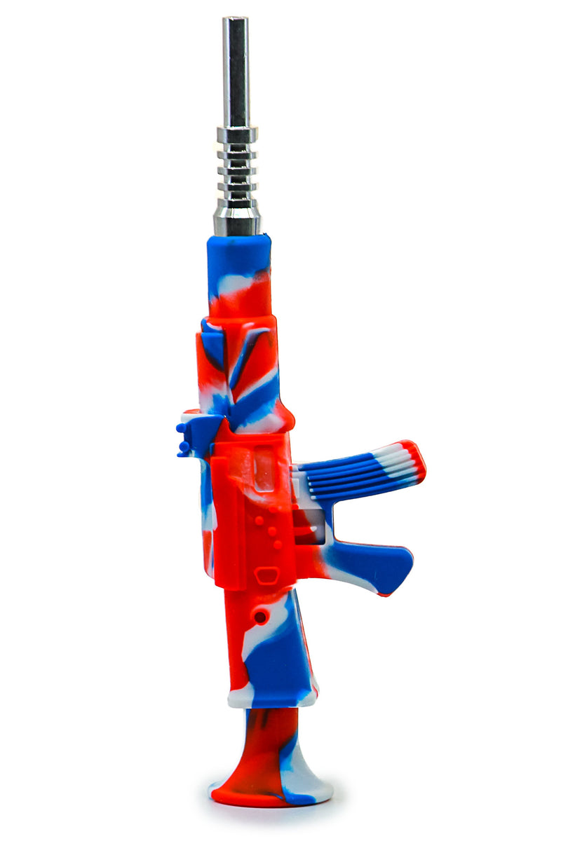 Machine Gun SIlicone Nectar Collector