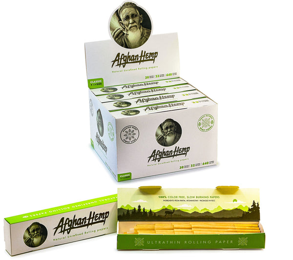 Afghan Hemp Multipack Cone Box (Full Case)