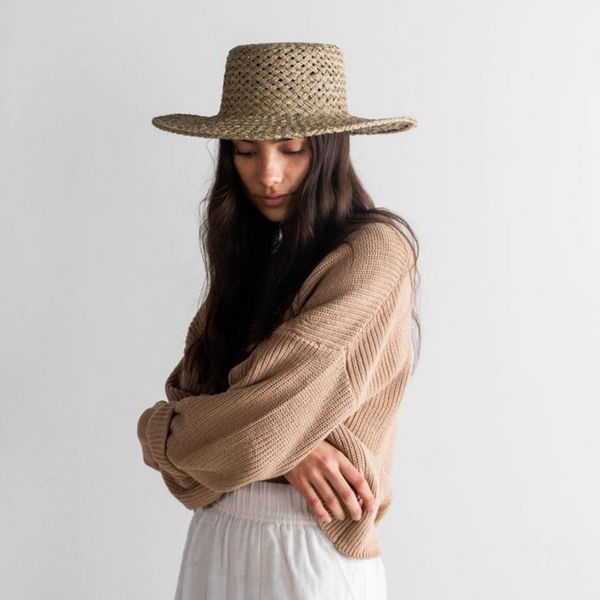 Seabreeze Seagrass Hat