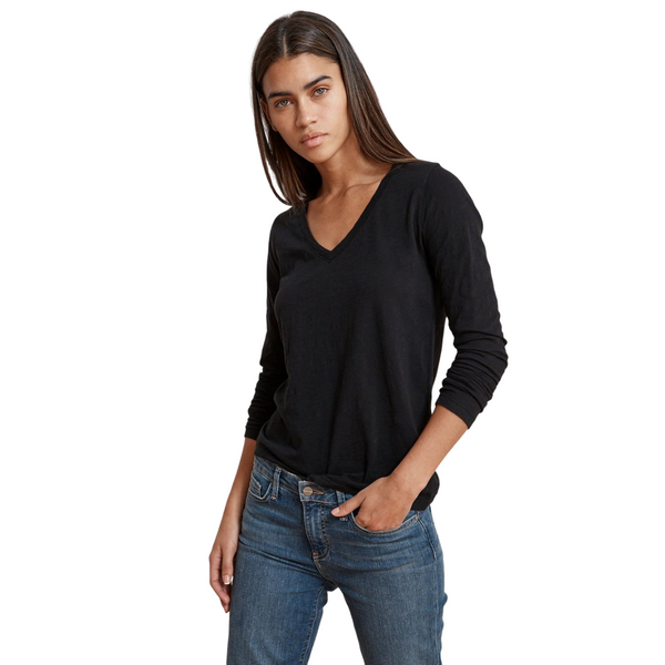 Blaire V-neck Long Sleeve