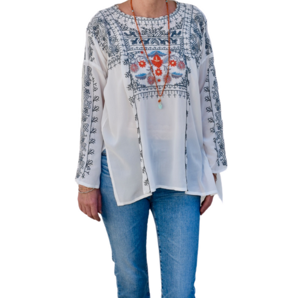 Inka Silk Blouse
