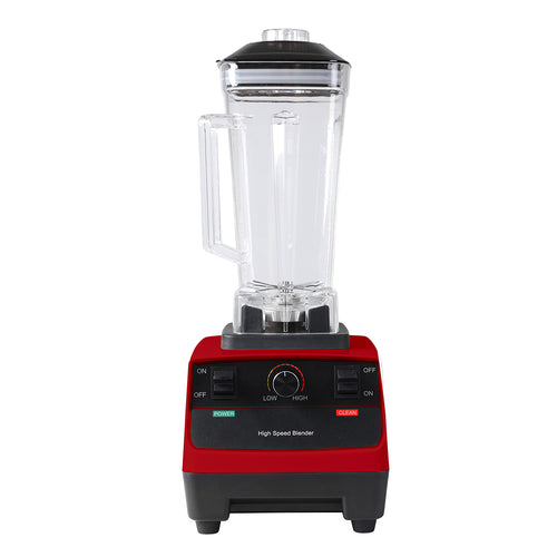 2L Commercial Blender Mixer Food Processor Juicer Smoothie Ice Crush Maker Red