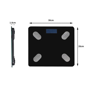 Body Fat Scale Digital Bluetooth Scales Weight BMI Bath Monitor Tracker 180KG