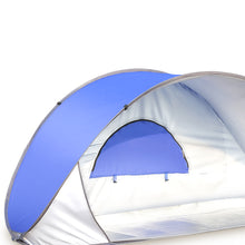 Load image into Gallery viewer, Mountview Pop Up Tent Beach Camping Tents 2-3 Person Hiking Portable Shelter Mat