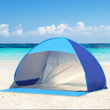 Load image into Gallery viewer, Mountview Pop Up Tent Camping Beach Tents 2-3 Person Hiking Portable Shelter