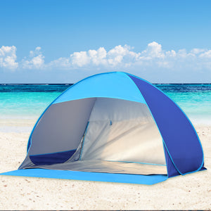 Mountview Pop Up Tent Camping Beach Tents 2-3 Person Hiking Portable Shelter