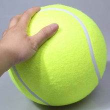 Load image into Gallery viewer, 9.5 Inches Dog Tennis Ball Giant Pet Toys for Dog Chewing Toy Signature Mega Jumbo Kids Toy Ball For Dog Training Supplies