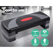 Load image into Gallery viewer, Everfit 3 Level Aerobic Step Bench