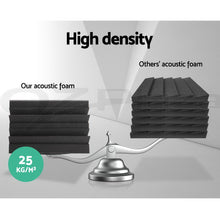 Load image into Gallery viewer, 40pcs Studio Acoustic Foam Sound Absorption Proofing Panels Corner DIY
