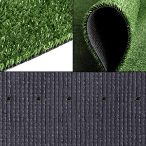Primeturf Synthetic 10mm  0.95mx20m 19sqm Artificial Grass Fake Turf Olive Plants Plastic Lawn