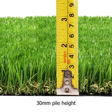 Load image into Gallery viewer, Primeturf Synthetic 30mm  0.95mx10m 9.5sqm Artificial Grass Fake Turf 4-coloured Plants Plastic Lawn