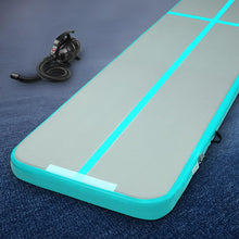 Load image into Gallery viewer, Everfit 3m x 1m Air Track Mat Gymnastic Tumbling Blue and Grey