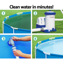 Load image into Gallery viewer, Bestway 2500 GPH Filter Pump Swimming Pool Cleaner