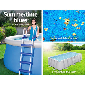 Bestway 3.05m Swimming Pool Cover For Above Ground Pools Cover LeafStop