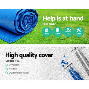 Bestway 3.66m Swimming Pool Cover For Above Ground Pools Cover LeafStop