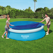 Load image into Gallery viewer, Bestway 3.66m Swimming Pool Cover For Above Ground Pools Cover LeafStop