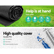 Load image into Gallery viewer, Bestway 4.27m Swimming Pool Cover For Above Ground Pools LeafStop Black