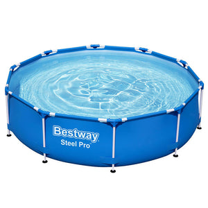 Bestway Swimming Pool Above Ground Pools Filter Pump Powewr Steel Frame