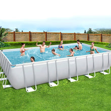 Load image into Gallery viewer, Bestway Above Ground Swimming Pool Power Steel™ Rectangular Frame Pools Filter