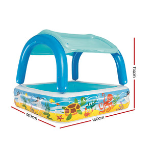 Bestway Inflatable Kids Pool Canopy Play Pool Swimming Pool Family Pools