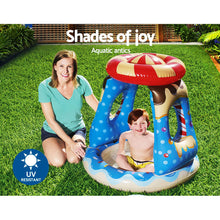 Load image into Gallery viewer, Bestway Kid Play Pool Swimming Pools Top Shade Inflatable Outdoor Family