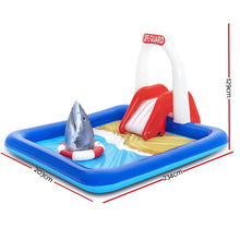 Load image into Gallery viewer, Bestway Swimming Pool Above Ground Kids Play Pools Lifeguard Slide Inflatable
