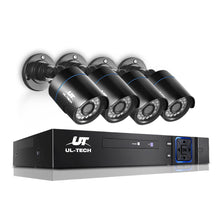Load image into Gallery viewer, UL Tech 1080P 4 Channel HDMI CCTV Security Camera