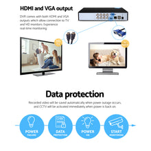 Load image into Gallery viewer, UL Tech 1080P 8 Channel HDMI CCTV Security Camera